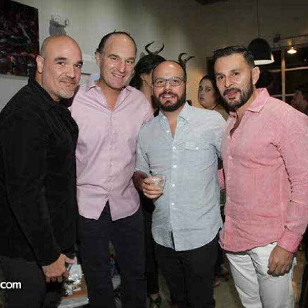 Ramon Emery,Sami Bazzi,Carlos Gamus y Ricardo Corredor