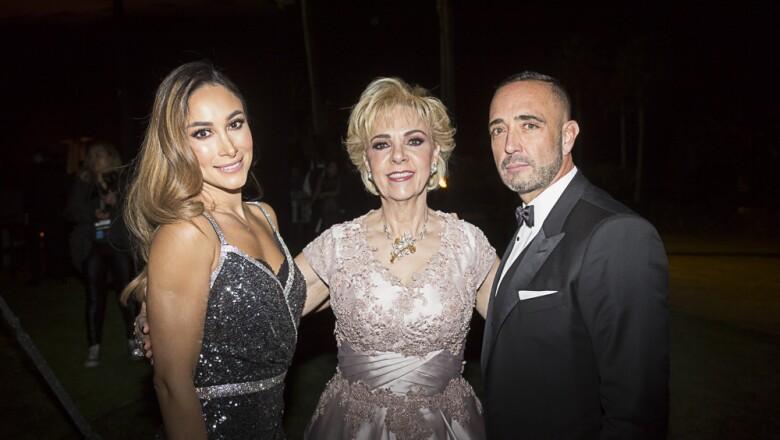 Daniela Legarreta, Martha Díaz Barreiro,  Juan Carlos Legatreta