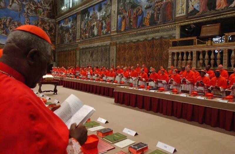 Aspectos del cónclave de 2005, cuando se eligió como Papa a Benedicto XVI.