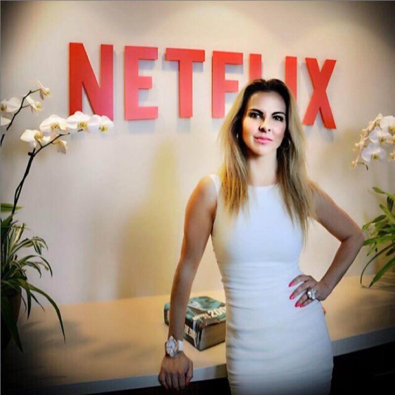 """La actriz anunció hace unos minutos su nuevo protagónico en la serie original de Netflix que llevará por título """"Ingobernable"""". Te contamos los detalles de su nuevo y muy probablemente polémico papel."""