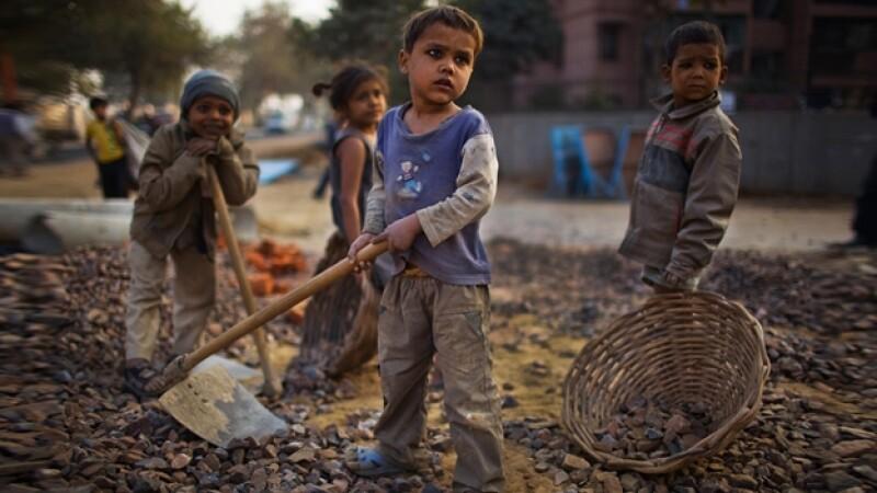 niños, india, trabajo, condiciones