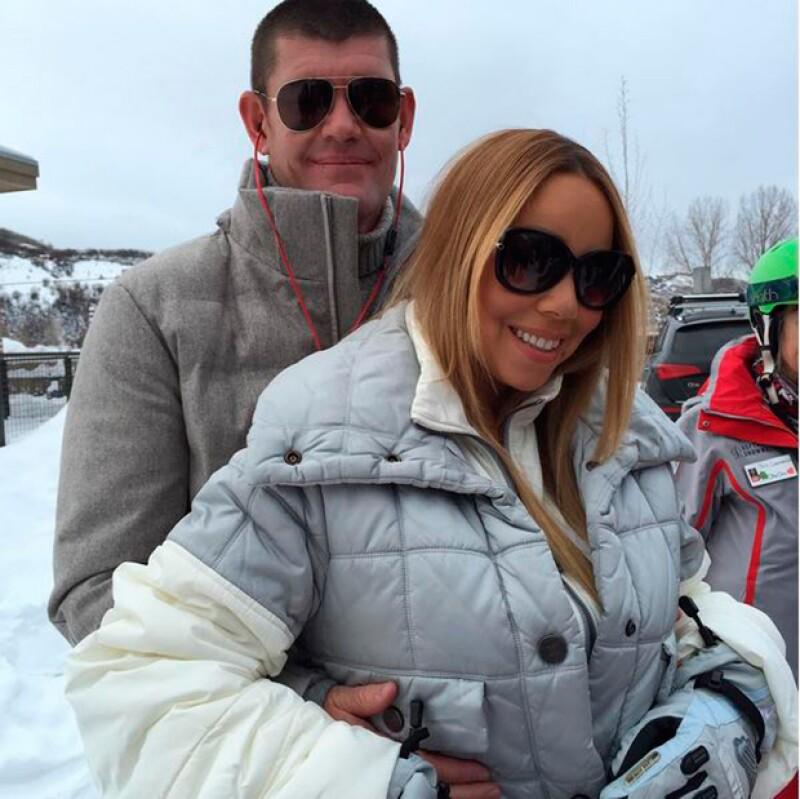 Mariah luce más enamorada que nunca.