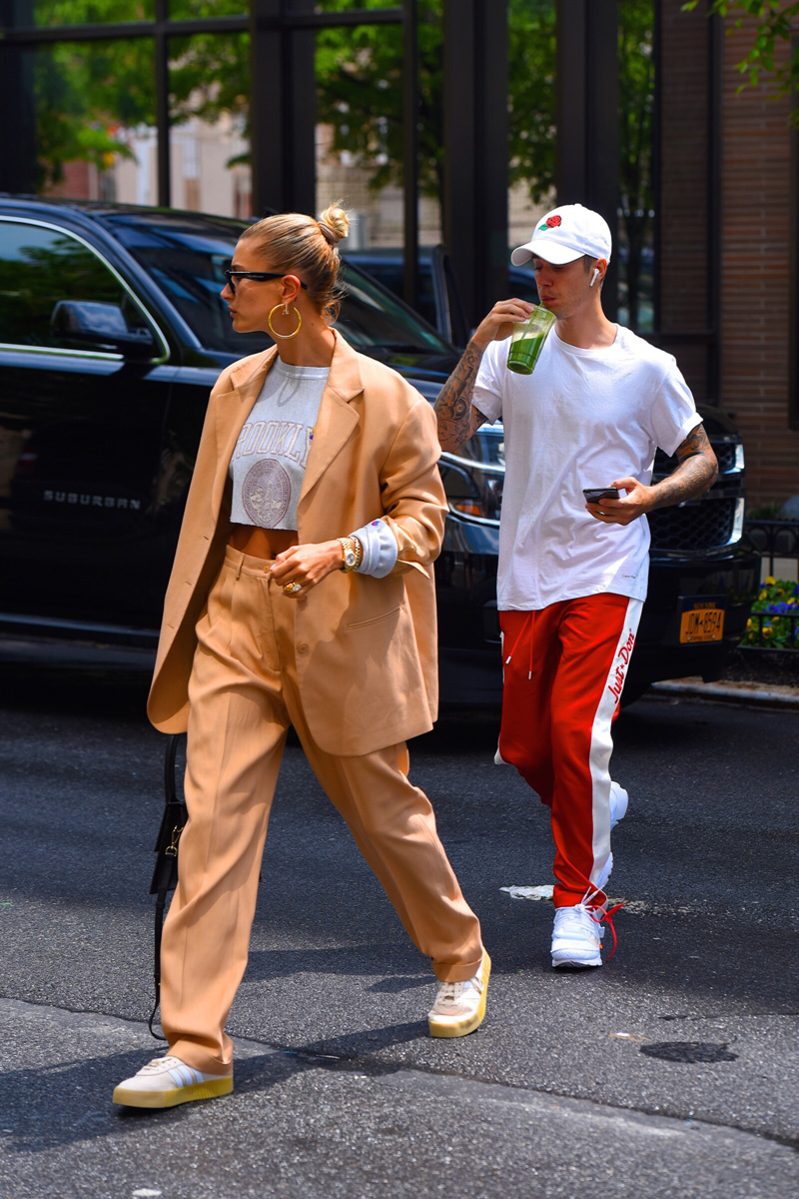 Celebrity Sightings in New York City - May 4, 2019