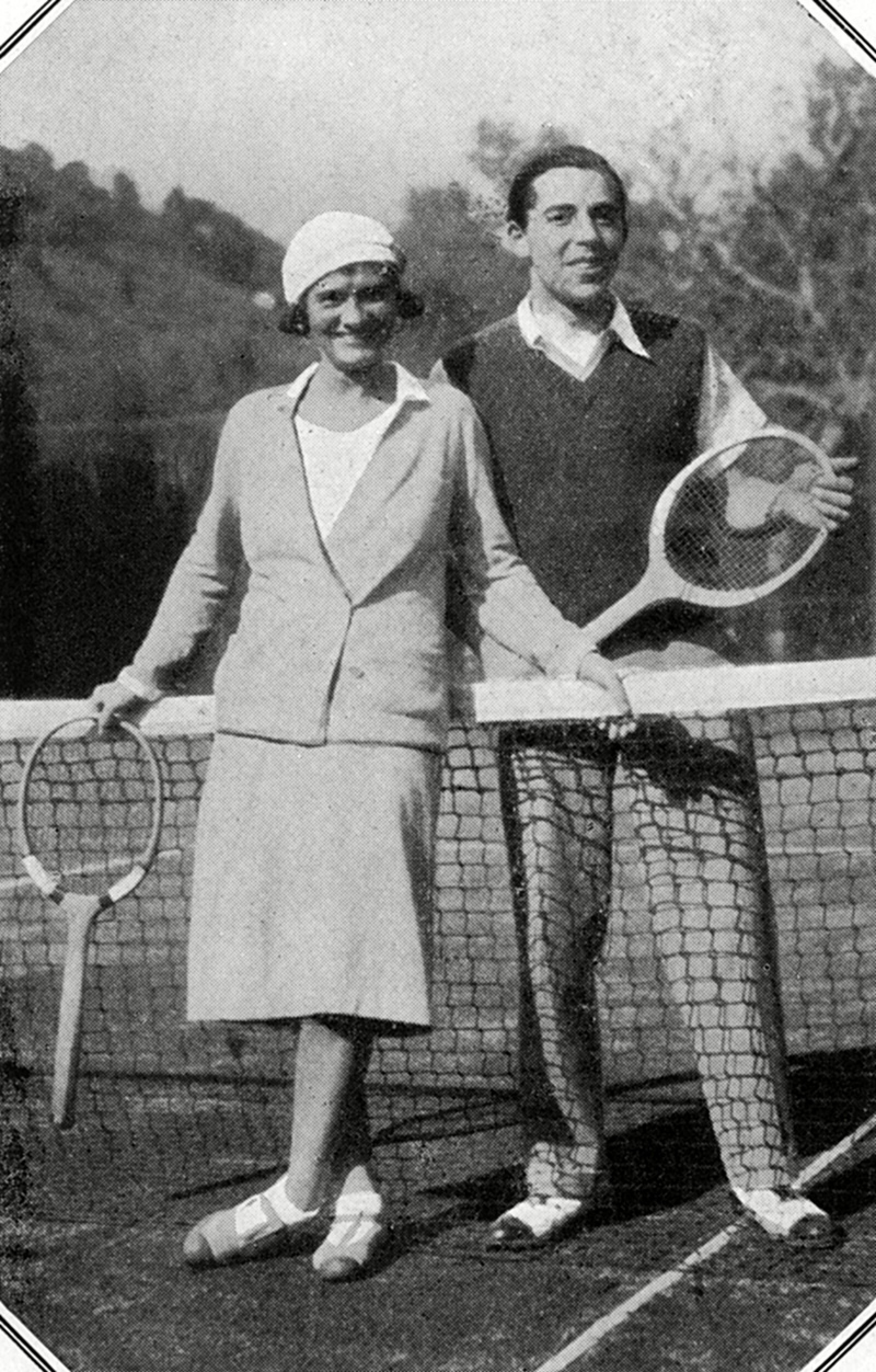Gabrielle Chanel & Baron Pantz On the French Riviera, 1931