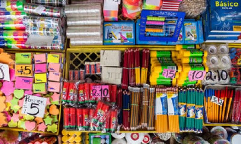 El precio de la lista de útiles para primer grado de primaria oscila entre 145 y 450 pesos. (Foto: Cuartoscuro)