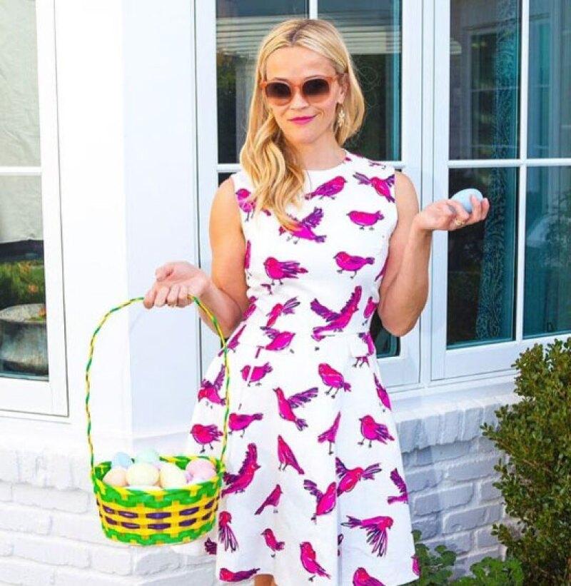 Las Kardashian, Reese Whiterspoon, Miley Cyrus, Taylor Swift y más celebs pasaron en familia este domingo de Pascua y así lo festejaron.