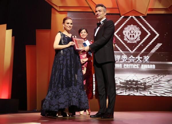 Natalie Portaman en los china huaning awards