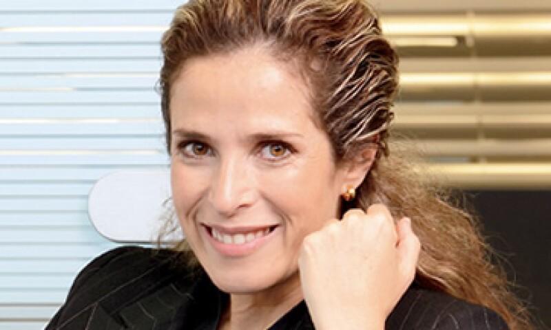 Sofía Belmar, directiva de MetLife, busca más clientes. (Foto: Ramón Sánchez Belmont)