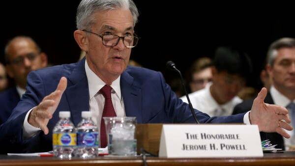 Jerome Powell Fed tasa de referencia