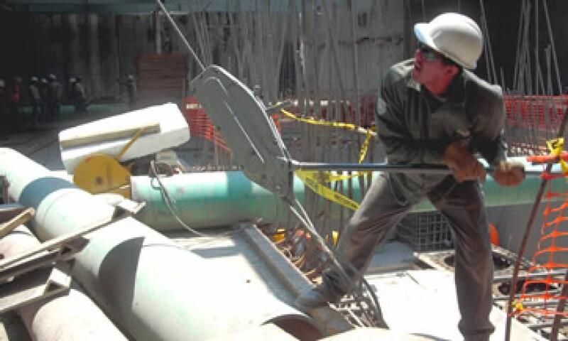 La industria de la construcción en México es uno de los principales termómetros de la economía. (Foto: Notimex)