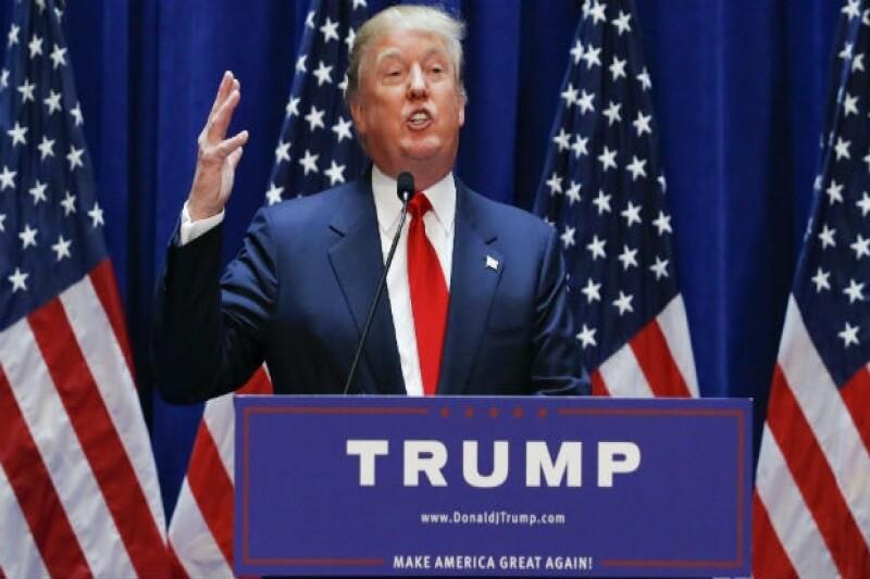 El multimillonario y estrella de reality ha anunciado a los medios sus intenciones para buscar la silla presidencial con el partido republicano, además de sus planes en la frontera de Estados Unidos.