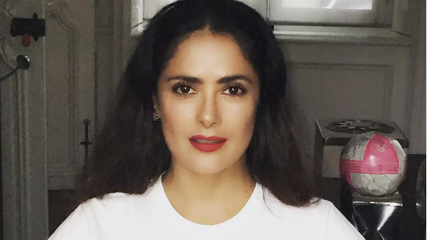 Salma Hayek loves Mexico