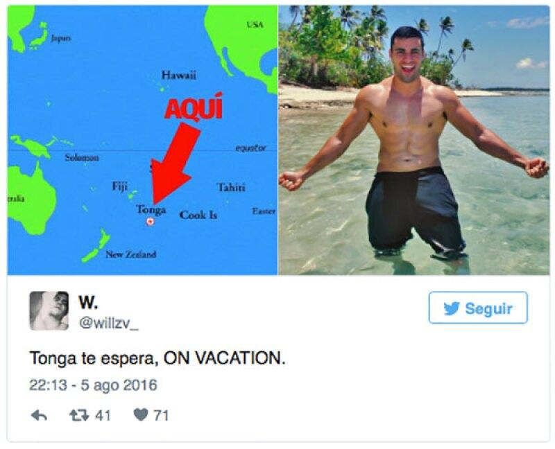 Tonga se ha convertido en el mejor spot para vacacionar.