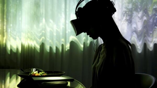Comida en Realidad Virtual