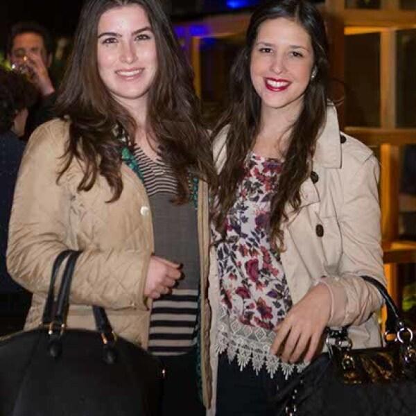 Daniela Delgado y Alejandra Torres