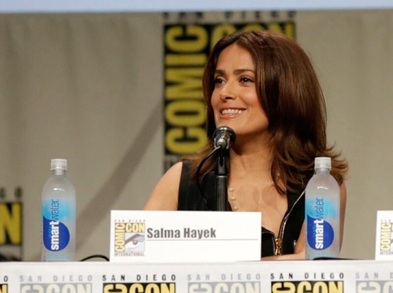 Salma relató su experiencia en la cinta, la cual ha definido como una de sus actuaciones más complicadas.