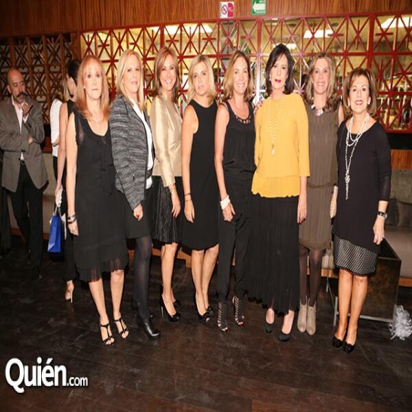 Mónica Mariscal,Beatriz Mariscal,Claudia Recamier,Laura Morodo,María Azcarraga,Loli Pérez-Salazár,Mercedes Morodo,Ivonne Llano