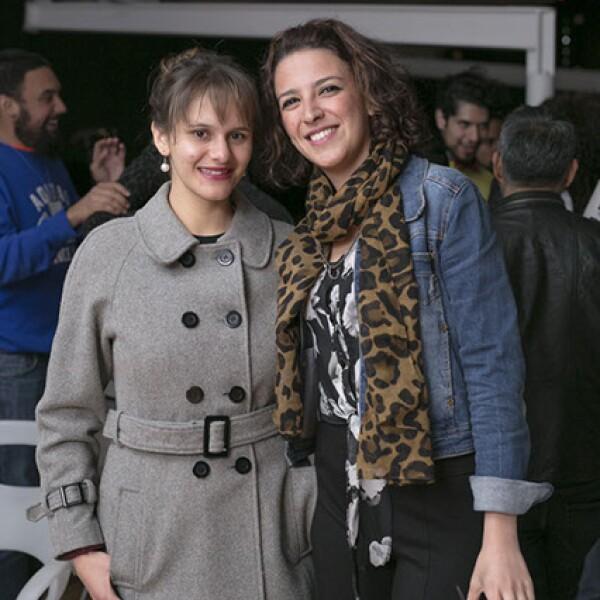 Jennifer Baker y Eliane Aboumrad