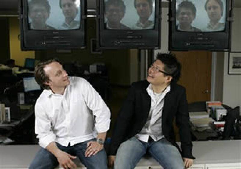 Los fundadores de YouTube, Chad Hurley y Steve Chen, obtuvieron 240 millones de dólares en ingresos en 2008. (Foto: AP)