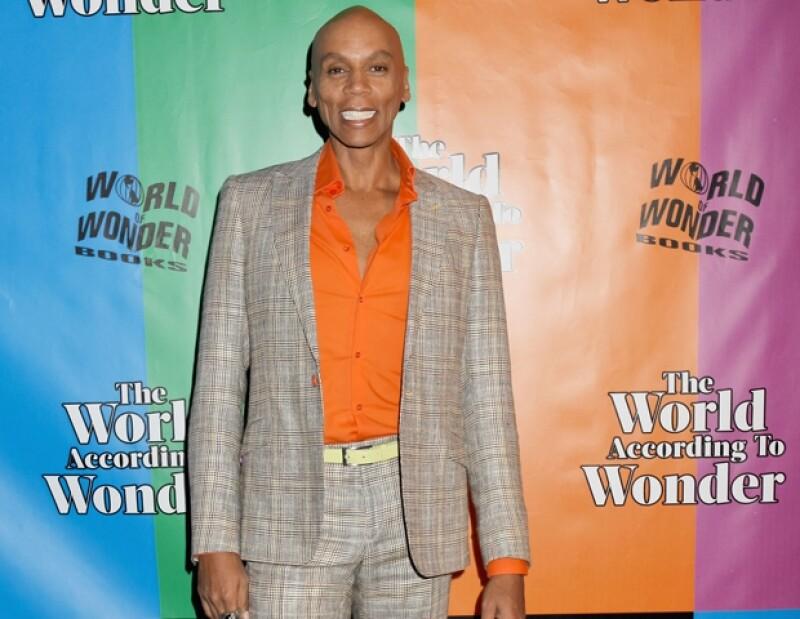 RuPaul como hombre no es tan atractivo como lo es al vestirse de mujer.