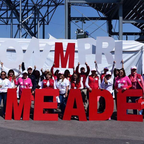 Mujeres con Meade