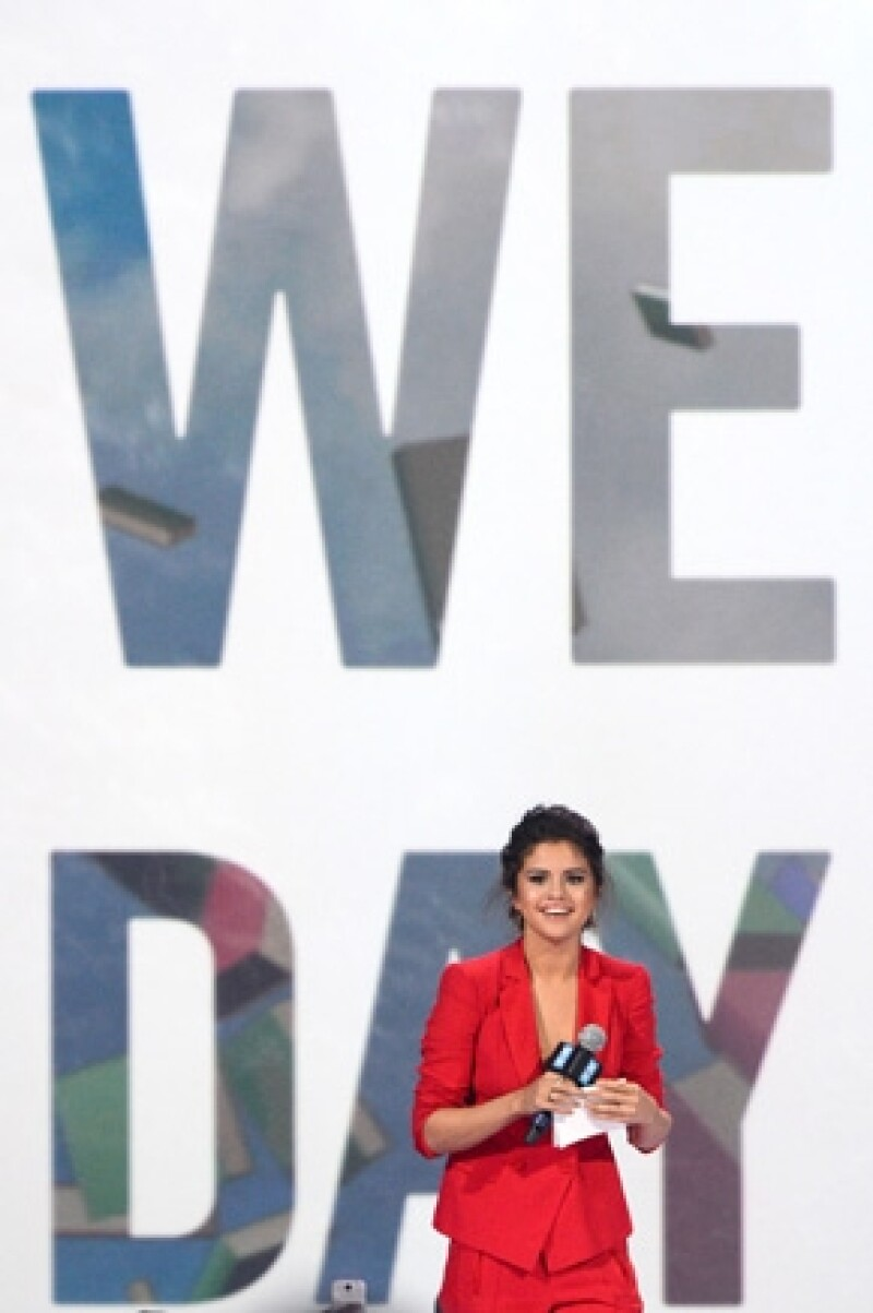 """Ayer la actriz y cantante dio un discurso conmovedor en el evento """"We Day California"""", donde le aseguró a los jóvenes que ingresó a rehab porque perdió de vista quién era."""