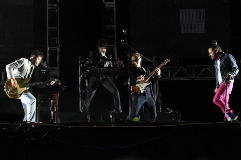 La banda mexicana llevó un mensaje de fraternidad y buena vibra al encuentro musical.
