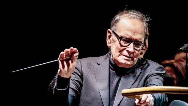 Ennio Morricone Performs In Milan