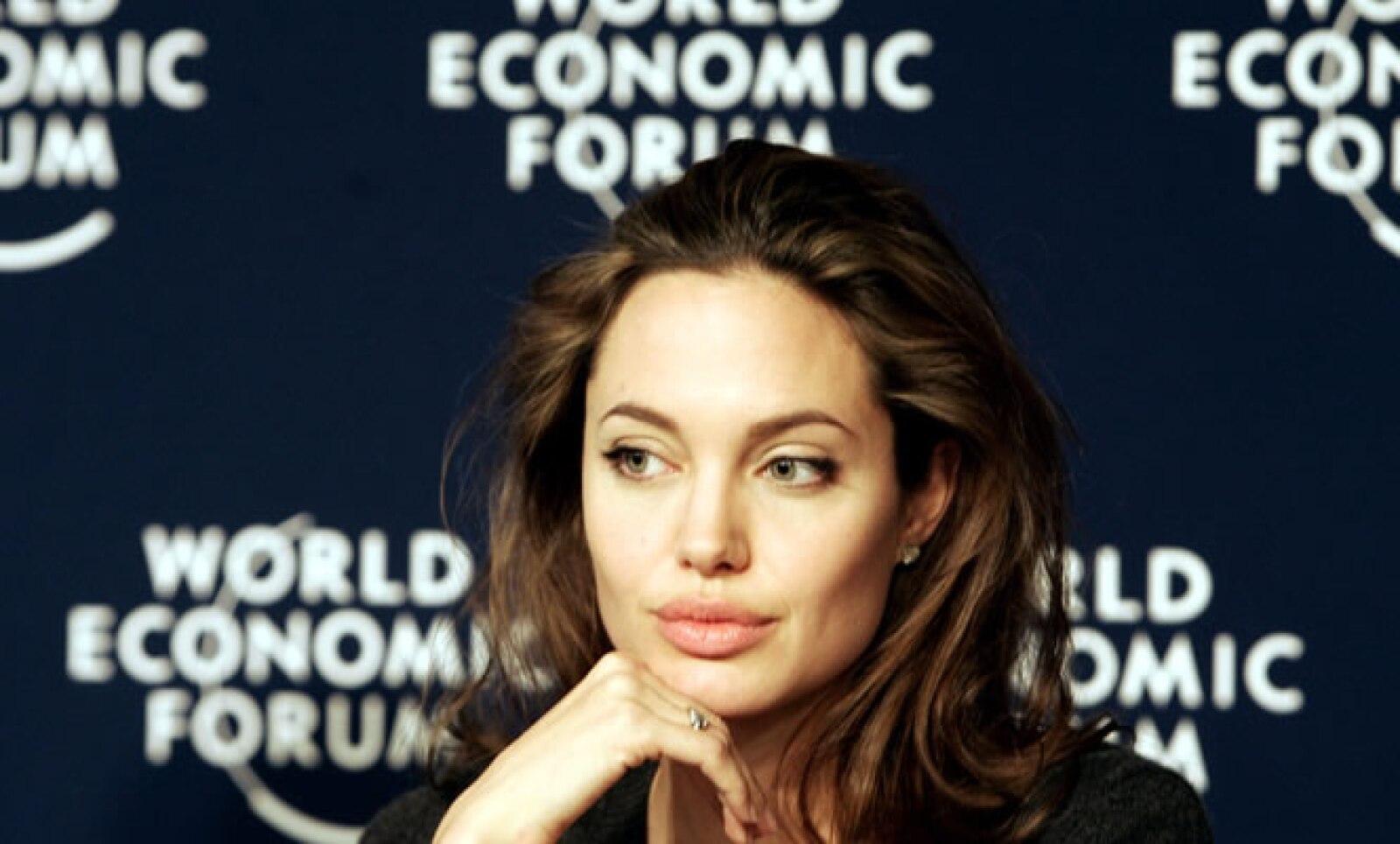 En 2005 la actriz estadounidense participó en el Foro Económico Mundial de Davos, Suiza.