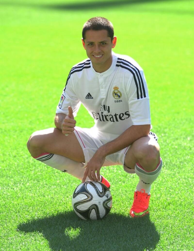 Este lunes se llevó a cabo en Madrid la presentación oficial del futbolista mexicano en su nuevo equipo, donde expresó la emoción y aseguró estar viviendo un sueño.