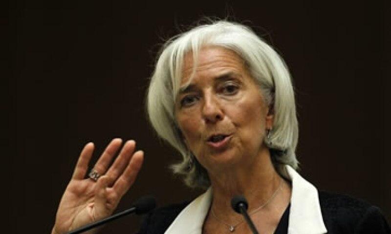 Lagarde dijo que es un asunto sutil cómo continuar y concluir los estímulos monetarios. (Foto: Reuters)