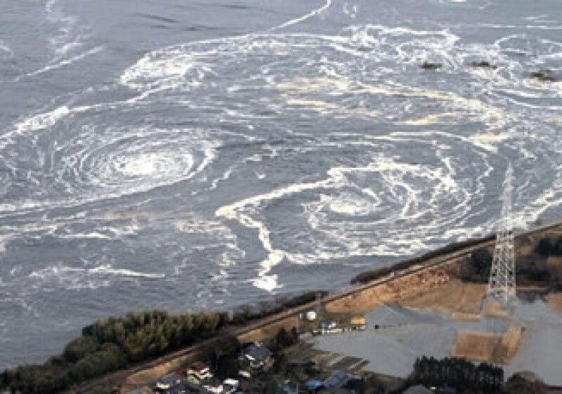 El sismo en Japón provocó un tsunami con olas de hasta 10 metros de altura. (Foto: Reuters)