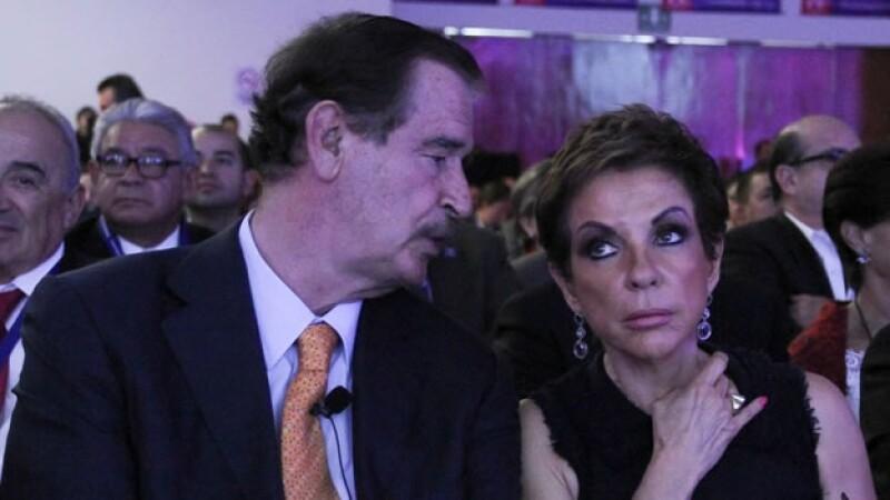 Vicente Fox, Marta Sahagun