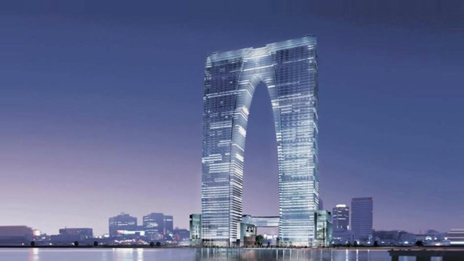 Puerta del edificio este Suzhou