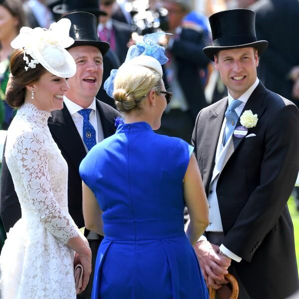 Kate, Duquesa de Cambridge, Principe William, Mike Tindall, Zara
