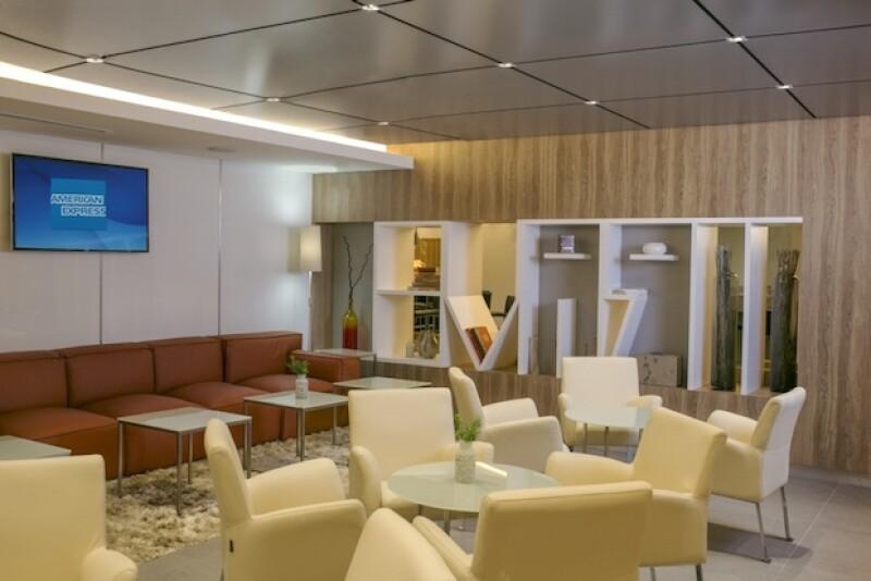Centurion Lounge, terminal 1