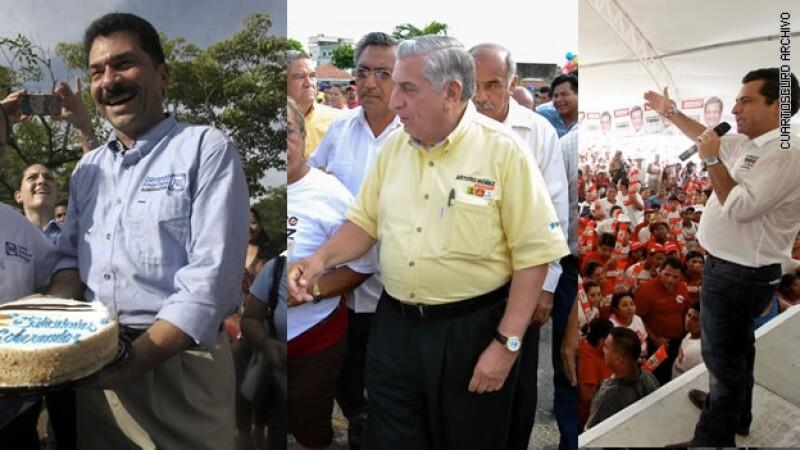 tres candidatos Tabasco