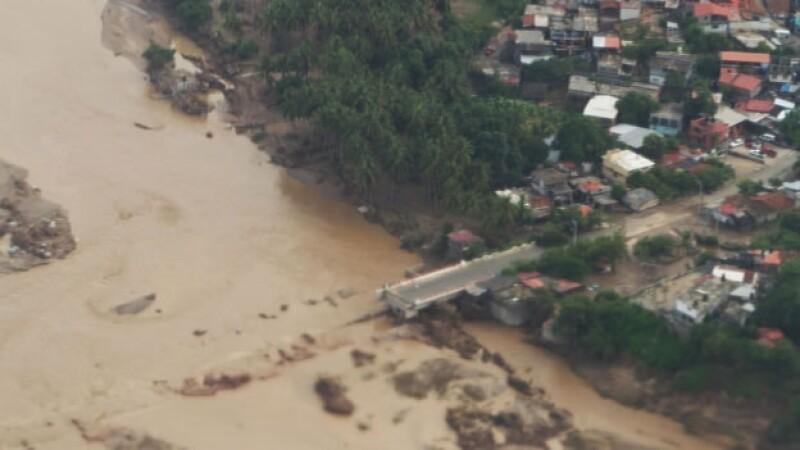 tormenta, manuel, desastre, lluvia, aerea, danmifacados, derrumbe, inundacion