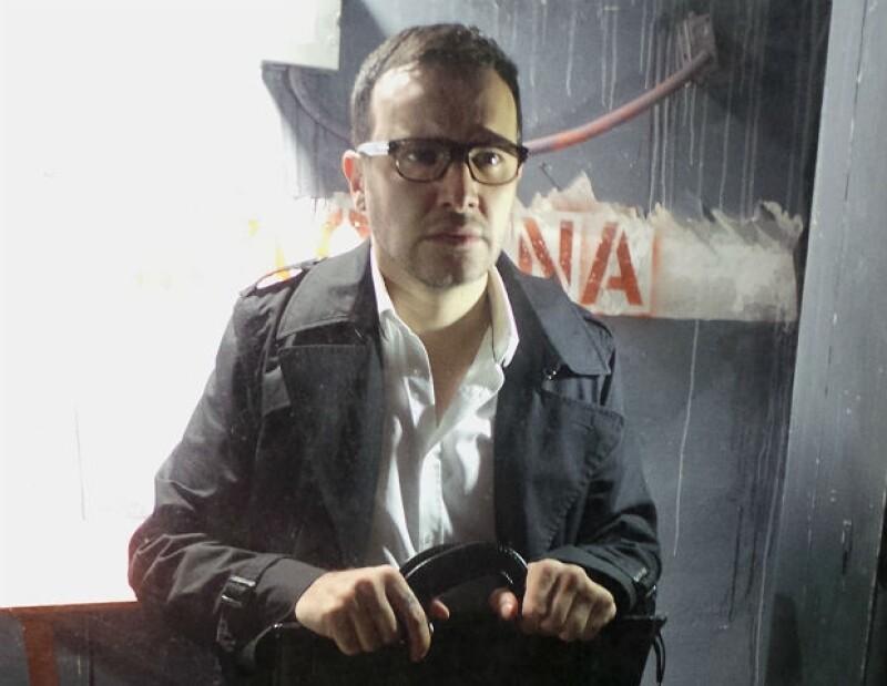"""Alex de la Madrid es actor de la exitosa serie """"El señor de los cielos"""" y la cinta """"Cuatro Lunas""""."""