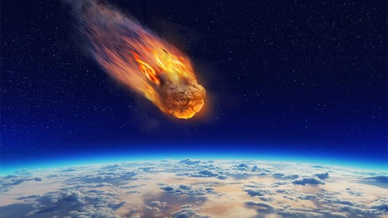 NASA detecta meteorito con 10 veces la energía de la bomba atómica