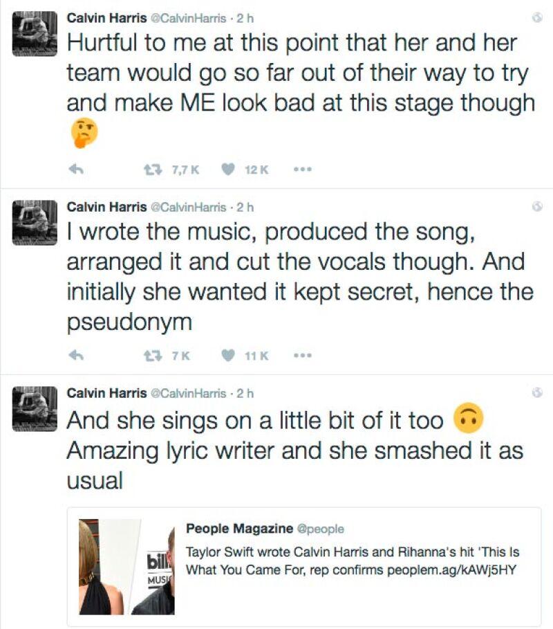 Y este fue el primero de sus tuits (de abajo hacia arriba)