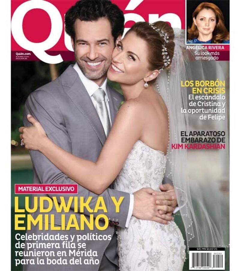 Sin duda la boda del año y para celebrarla, en el nuevo número de la revista Quién tenemos una foto exclusiva como portada, y mucho más detalles de esta ceremonia y fiesta.