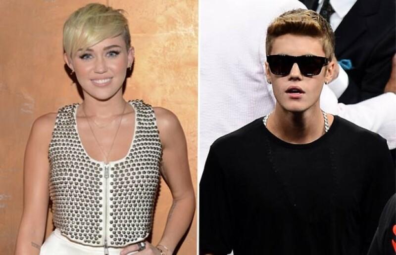Miley Cyris y Justin Bieber no han superado sus anteriores relaciones.