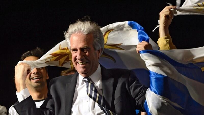 Tabaré Vázquez electo Uruguay