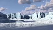 ¿Qué son las plataformas glaciares y cómo las afecta el cambio climático?