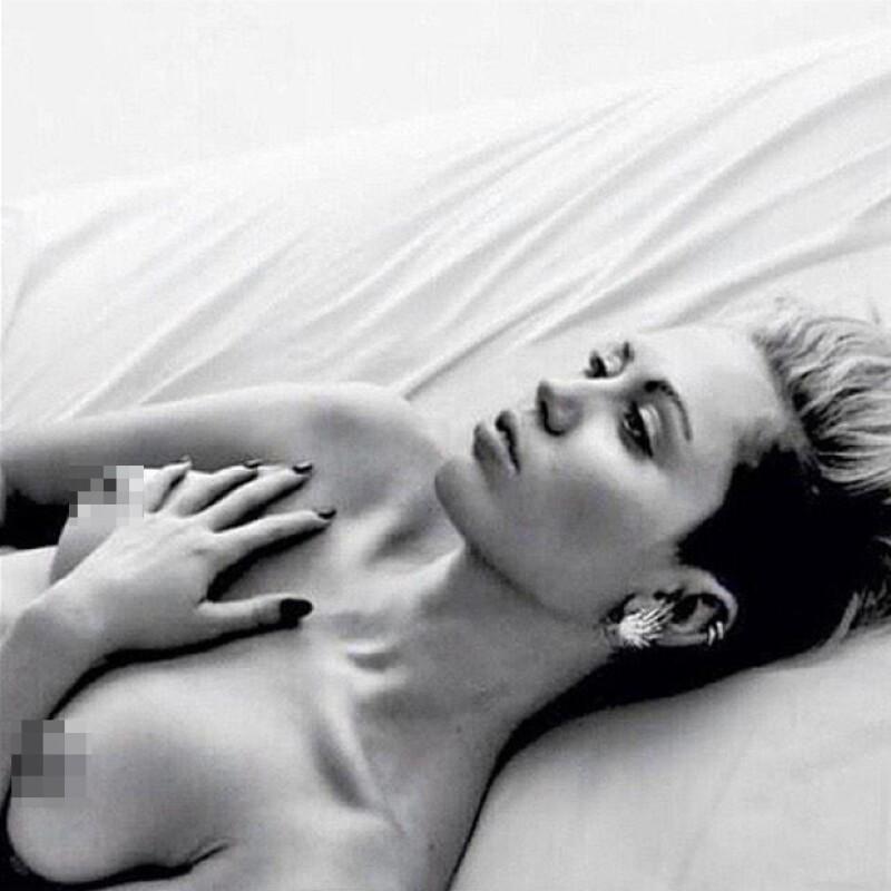 Miley ha aprendido a compartir fotografías menos reveladoras en Instagram.