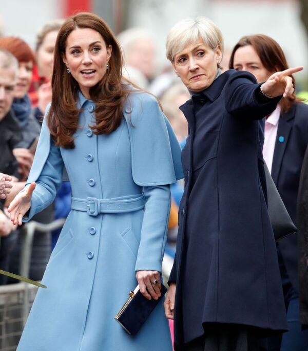 Kate Middleton y Catherine Quinn