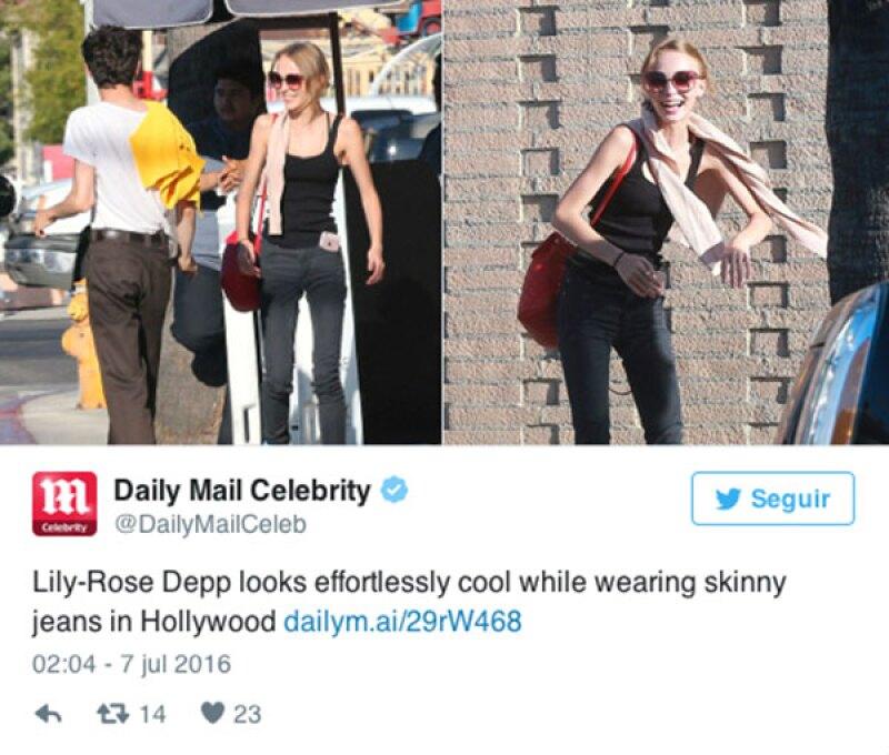 Daily Mail fue uno de los medios que señaló la figura de la adolescente.