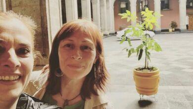 Tatiana Clouthier visita a Beatriz Gutiérrez y López Obrador 1.jpg