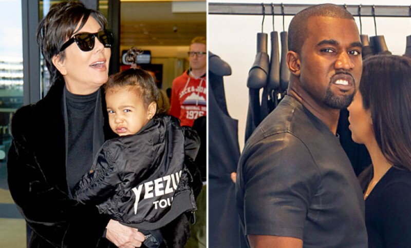 North West dejó claro con una expresión a cuál de sus papás se parece más. Aquí te mostramos otros hijos de famosos que heredaron sus características muecas.